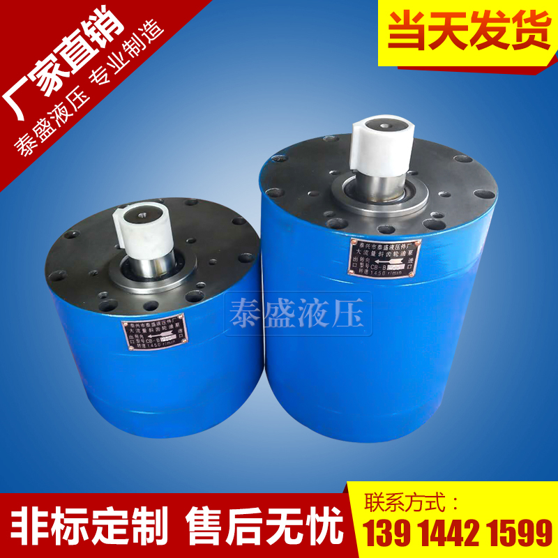 CB-B700型低噪音大流量齿轮油泵