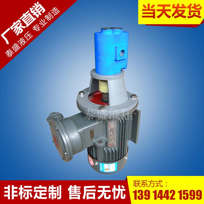 LBZ-160立式齿轮泵电机组装置