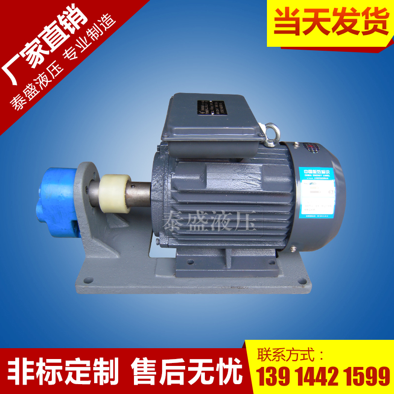 BB-B80JZ摆线齿轮泵电机组(立卧式)