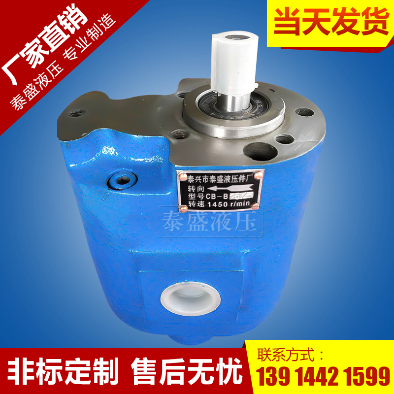 CB-B6/6双联齿轮油泵