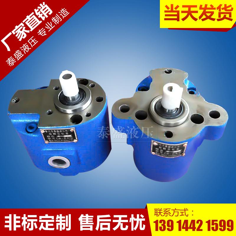CB-B10/4双联齿轮油泵