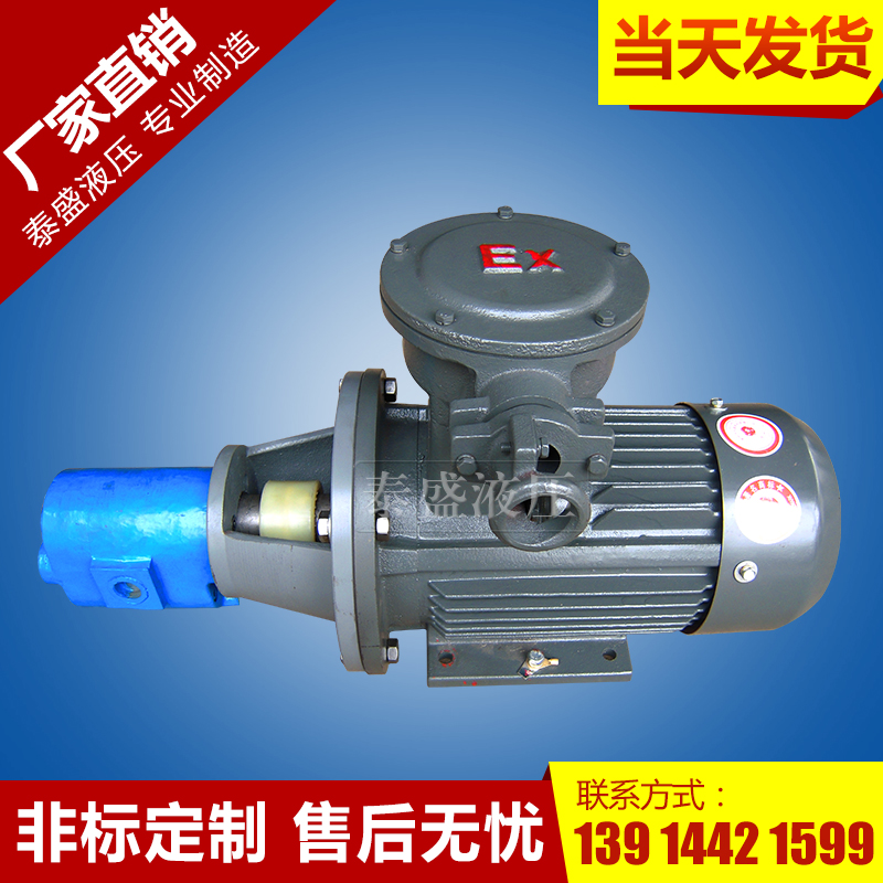 CB-B⊹NS立卧不锈钢泵防爆电机组