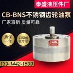 天津316L不锈钢齿轮油泵CBA-B