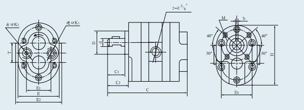 DLCB-B4/10低压多联齿轮泵